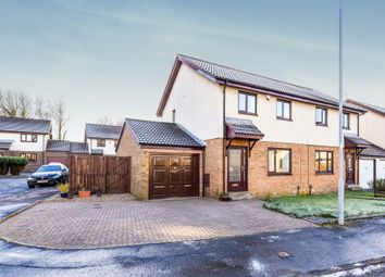 Thumbnail 3 bed semi-detached house for sale in Pennyvenie Way, Girdle Toll, Irvine