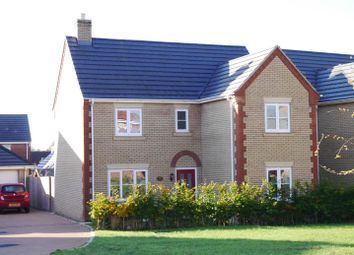 Thumbnail 4 bed detached house for sale in Snowdrop Grove, Downham Market