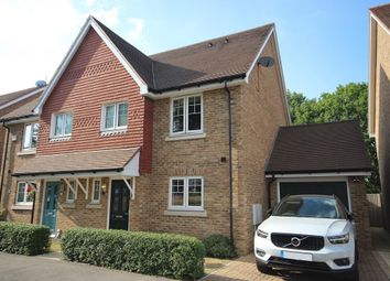 Thumbnail 3 bed semi-detached house for sale in Newick Way, East Grinstead