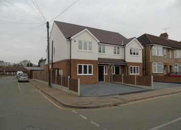 Thumbnail 4 bed semi-detached house for sale in Knightsbridge Gardens, Romford