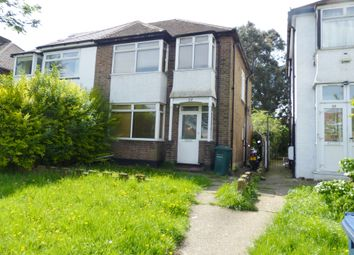 Thumbnail 3 bedroom semi-detached house for sale in Great North Way, Hendon, London
