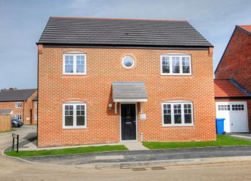 Thumbnail 4 bed detached house for sale in Caldburne Drive, Morpeth