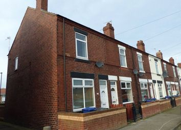 Thumbnail 3 bed end terrace house for sale in Trafalgar Street, Carcroft, Doncaster