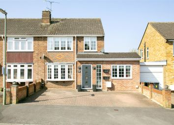 Thumbnail 4 bed semi-detached house for sale in Willow Way, Basingstoke