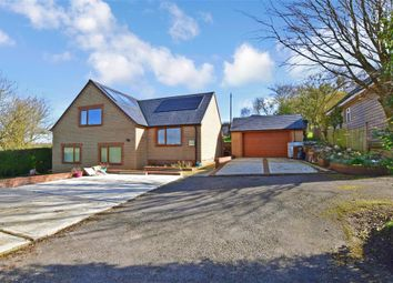 Thumbnail 3 bed detached house for sale in Canterbury Road, Hawkinge, Folkestone, Kent