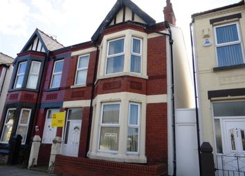 Thumbnail 4 bed semi-detached house for sale in Poulton Road, Wallasey
