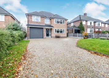 Thumbnail 4 bed detached house for sale in Highfields Close, Ashby-De-La-Zouch, Leicestershire