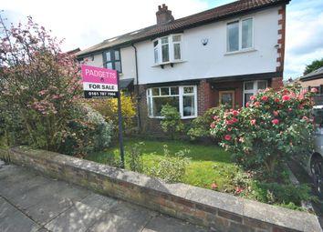 Thumbnail 3 bed semi-detached house for sale in Grange Drive, Monton Eccles Manchester