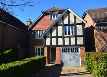 Thumbnail 5 bed detached house for sale in Poplar Close, Epsom, Surrey.