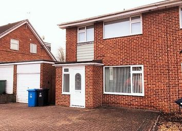 Thumbnail 3 bed semi-detached house to rent in Verity Crescent, Poole, Dorset