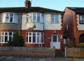 Thumbnail 3 bedroom end terrace house for sale in Delapre Crescent Road, Far Cotton, Northampton