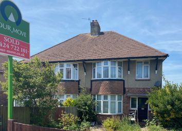 Thumbnail 3 bed semi-detached house for sale in Sedlescombe Road North, St. Leonards-On-Sea, East Sussex