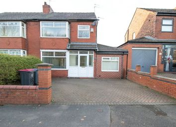 Thumbnail 3 bed semi-detached house for sale in Portland Road, Worsley, Manchester