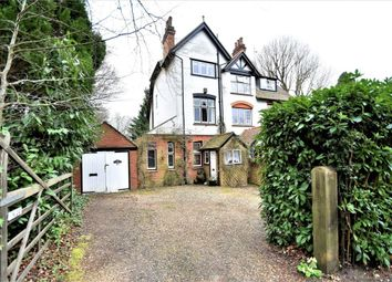 Thumbnail 4 bed semi-detached house for sale in Heatherdale Road, Camberley, Surrey