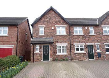 Thumbnail 3 bed end terrace house for sale in Turnstone Drive, Carlisle
