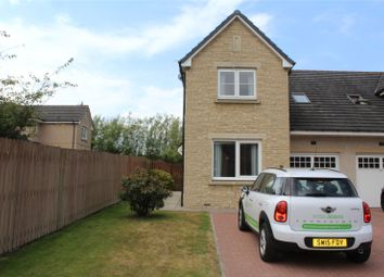 Thumbnail 3 bed end terrace house to rent in Castleview Avenue, Kintore, Aberdeenshire