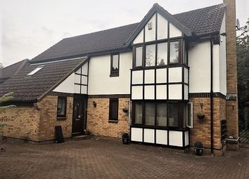 Thumbnail 4 bed detached house to rent in Barn Owl Close, East Hunsbury, Northampton