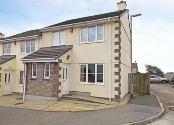 Thumbnail 3 bed end terrace house for sale in Indian Queens, St. Columb, Cornwall