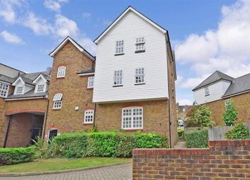 Thumbnail 3 bed flat for sale in Davy Court, Rochester, Kent