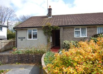 Thumbnail 2 bed bungalow to rent in Poundstock Close, Cardinham, Bodmin