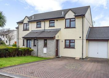 Thumbnail 3 bedroom semi-detached house for sale in Seneschall Park, Helston, Cornwall