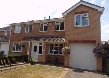 Thumbnail 4 bed semi-detached house for sale in Simpson Close, Whetstone, Leicestershire