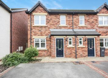 Thumbnail 3 bed semi-detached house for sale in 10 Leander Close, Whitehaven