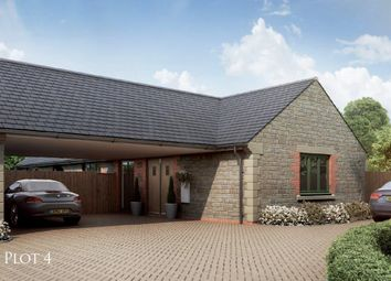 Thumbnail 2 bedroom bungalow for sale in The Courtyard, Main Road, Barleythorpe, Oakham