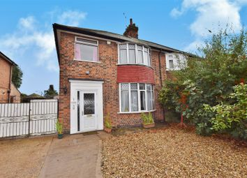 Thumbnail 4 bed semi-detached house for sale in Park Hill Avenue, Leicester