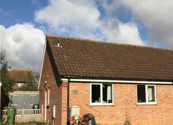 Thumbnail 2 bed semi-detached bungalow for sale in High House Avenue, Wymondham