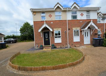 Thumbnail 2 bed semi-detached house to rent in Pytt Field, Harlow, Essex, UK
