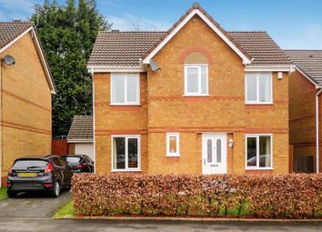 Thumbnail 4 bed detached house for sale in Nuffield Close, Heaton, Bolton