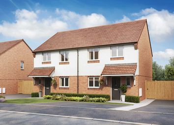 """Thumbnail 3 bed semi-detached house for sale in """"The Eveleigh"""" at Hastings Road, Grendon, Atherstone"""
