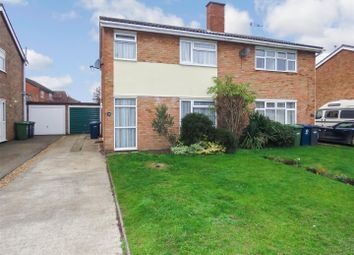 Thumbnail 3 bed semi-detached house for sale in Ridgeway, Eynesbury, St. Neots