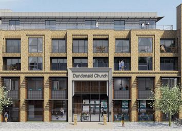 Thumbnail 2 bed flat for sale in Kingston Road, London