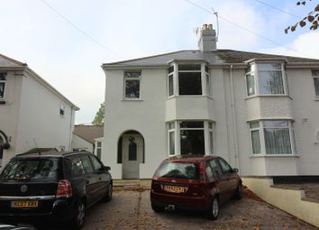Thumbnail 3 bed semi-detached house to rent in Newton Road, Torquay