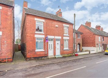 Thumbnail 2 bed semi-detached house for sale in Bosworth Road, Measham, Swadlincote