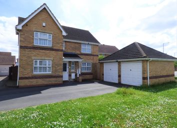 Thumbnail 4 bed detached house for sale in Wildflower Way, Bedford