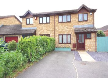 Thumbnail 3 bed semi-detached house for sale in Meadowsweet Drive, St. Mellons, Cardiff