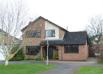 Thumbnail 3 bed detached house for sale in Alder Crescent, Lutterworth