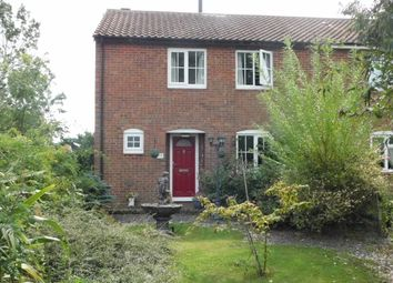 Thumbnail 1 bed semi-detached house for sale in Old Newton, Suffolk