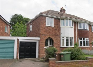 Thumbnail 3 bed semi-detached house to rent in Coniston Road, Sutton Coldfield