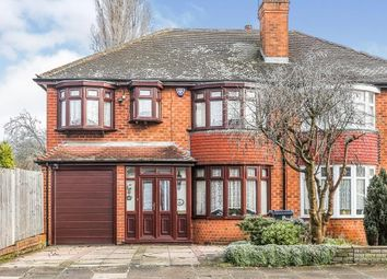 Thumbnail 4 bed semi-detached house for sale in Maryland Avenue, Hodge Hill, Birmingham, West Midlands