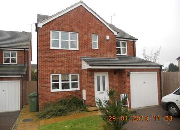 Thumbnail 4 bed detached house to rent in Lunns Gardens, Evesham