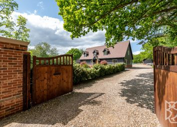 Thumbnail 4 bed detached house for sale in Harts Lane, Ardleigh, Colchester