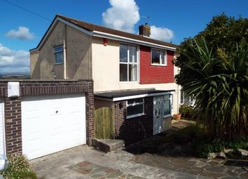 Thumbnail 3 bed semi-detached house for sale in Elburton, Devon