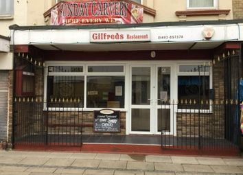 Thumbnail Restaurant/cafe for sale in Queens Square, Regent Road, Great Yarmouth