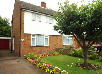 Thumbnail 2 bed semi-detached house for sale in Trinity Road, Luton, Bedfordshire, England