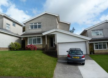Thumbnail 4 bed detached house for sale in Bryntawe Hall Close, Swansea
