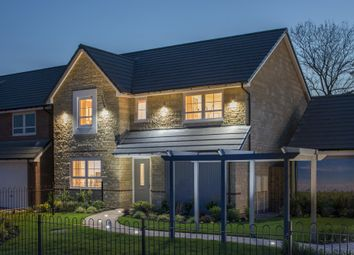 "Thumbnail 4 bed detached house for sale in ""Hemsworth"" at Marsh Lane, Leonard Stanley, Stonehouse"